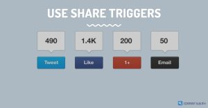 use share triggers, share triggers infographics
