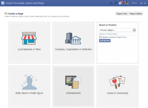 Facebook Business Page for Facebook Marketing