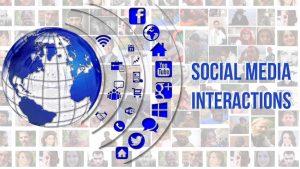 SOCIAL MEDIA INTERACTIONS FOR SOCIAL MEDIA MARKETING