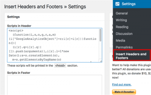 Headers and Footers Plugin