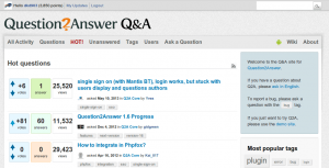Question answer platforms