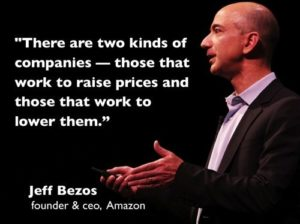 Perspective of Jeff Bezos
