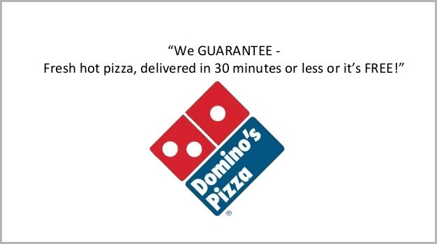 business model of domino's pizza